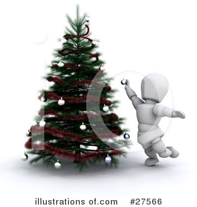 Royalty-Free (RF) Christmas Clipart Illustration by KJ Pargeter - Stock Sample #27566