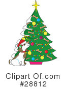 Royalty-Free (RF) Christmas Clipart Illustration #28812