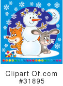 Royalty-Free (RF) christmas Clipart Illustration #31895