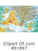 Royalty-Free (RF) christmas Clipart Illustration #31897