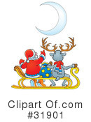 Royalty-Free (RF) Christmas Clipart Illustration #31901