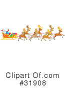 Royalty-Free (RF) Christmas Clipart Illustration #31908