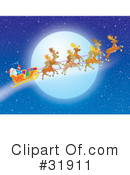 Royalty-Free (RF) Christmas Clipart Illustration #31911