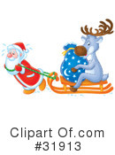 Royalty-Free (RF) Christmas Clipart Illustration #31913