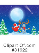 Christmas Clipart #31922 by Alex Bannykh