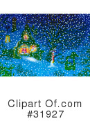 Royalty-Free (RF) christmas Clipart Illustration #31927