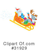 Royalty-Free (RF) Christmas Clipart Illustration #31929