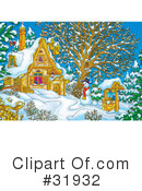 Royalty-Free (RF) christmas Clipart Illustration #31932