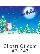 Royalty-Free (RF) Christmas Clipart Illustration #31947