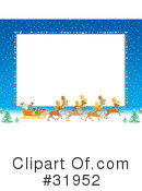 Royalty-Free (RF) Christmas Clipart Illustration #31952