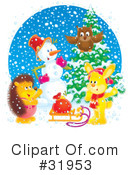 Christmas Clipart #31953 by Alex Bannykh