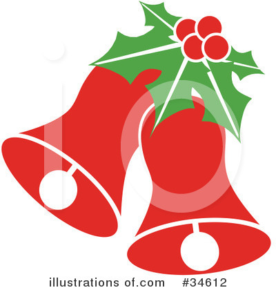 Royalty-Free (RF) Christmas Clipart Illustration by OnFocusMedia - Stock Sample #34612