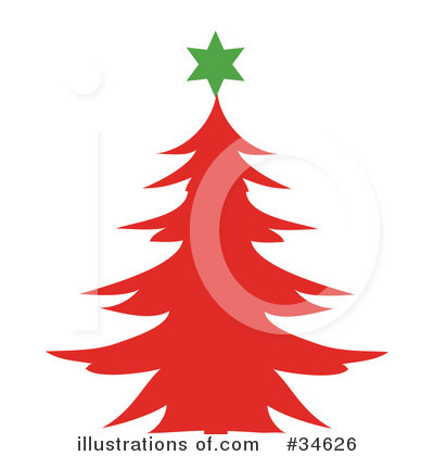 Christmas Tree Clipart #34626 by OnFocusMedia