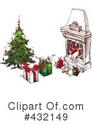 Royalty-Free (RF) Christmas Clipart Illustration #432149