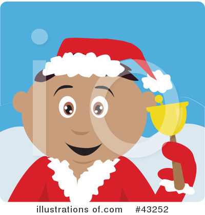 Royalty-Free (RF) Christmas Clipart Illustration by Dennis Holmes Designs - Stock Sample #43252