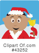 Royalty-Free (RF) christmas Clipart Illustration #43252