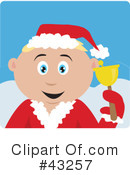 Royalty-Free (RF) christmas Clipart Illustration #43257