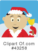 Royalty-Free (RF) christmas Clipart Illustration #43258