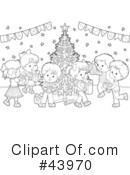 Christmas Clipart #43970 by Alex Bannykh