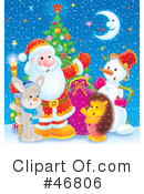 Royalty-Free (RF) christmas Clipart Illustration #46806
