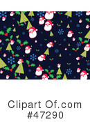 Royalty-Free (RF) Christmas Clipart Illustration #47290
