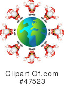 Royalty-Free (RF) Christmas Clipart Illustration #47523