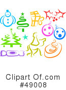 Royalty-Free (RF) christmas Clipart Illustration #49008