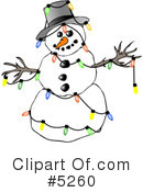 Royalty-Free (RF) Christmas Clipart Illustration #5260
