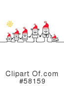 Royalty-Free (RF) Christmas Clipart Illustration #58159
