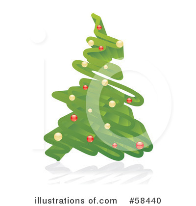 Christmas Tree Clipart #58440 by MilsiArt