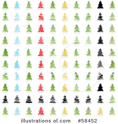 Christmas Tree Clipart #58452 by MilsiArt