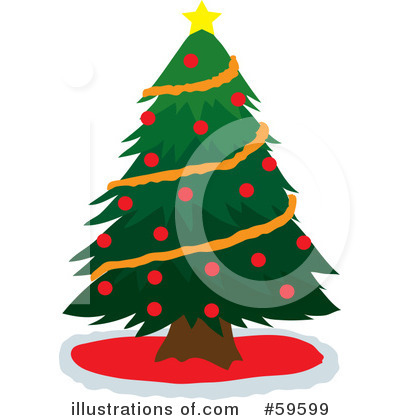 Christmas Tree Clipart #59599 by Rosie Piter