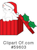 Royalty-Free (RF) Christmas Clipart Illustration #59603