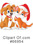 Royalty-Free (RF) Christmas Clipart Illustration #66954