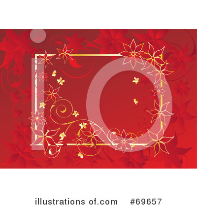 Christmas Background Clipart #69657 by MilsiArt
