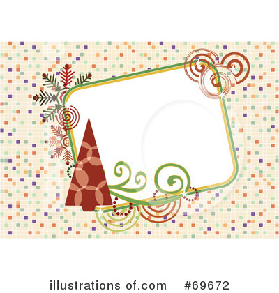 Christmas Background Clipart #69672 by MilsiArt