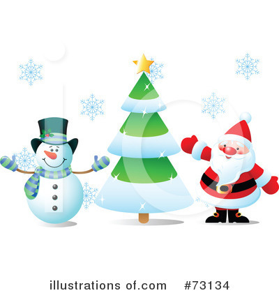 Snowman Clipart #73134 by Pushkin