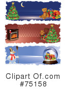 Royalty-Free (RF) Christmas Clipart Illustration #75158