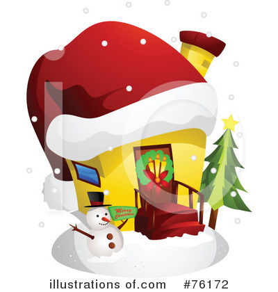 Unique House Clipart #76172 by BNP Design Studio