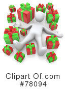Royalty-Free (RF) Christmas Clipart Illustration #78094