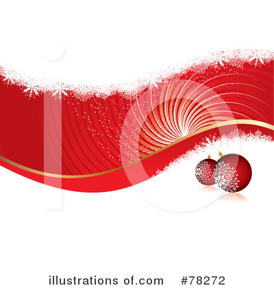 Christmas Background Clipart #78272 by MilsiArt