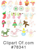 Christmas Clipart #78341 by Cherie Reve
