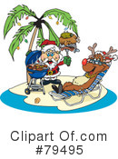 Royalty-Free (RF) christmas Clipart Illustration #79495