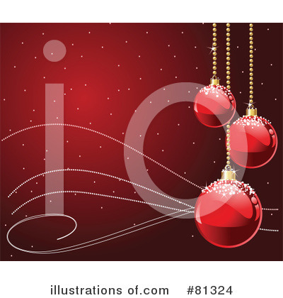 Royalty-Free (RF) Christmas Clipart Illustration by Pushkin - Stock Sample #81324
