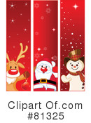 Royalty-Free (RF) Christmas Clipart Illustration #81325
