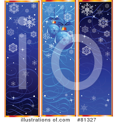 Royalty-Free (RF) Christmas Clipart Illustration by Pushkin - Stock Sample #81327