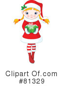 Royalty-Free (RF) Christmas Clipart Illustration #81329