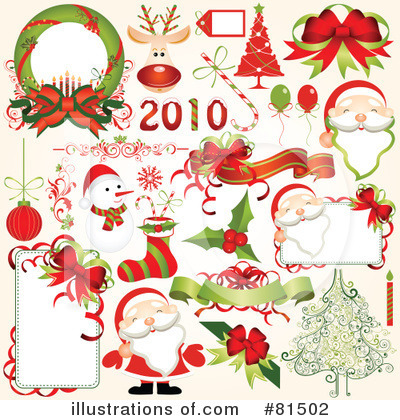 Royalty-Free (RF) Christmas Clipart Illustration by OnFocusMedia - Stock Sample #81502