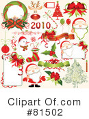 Royalty-Free (RF) christmas Clipart Illustration #81502