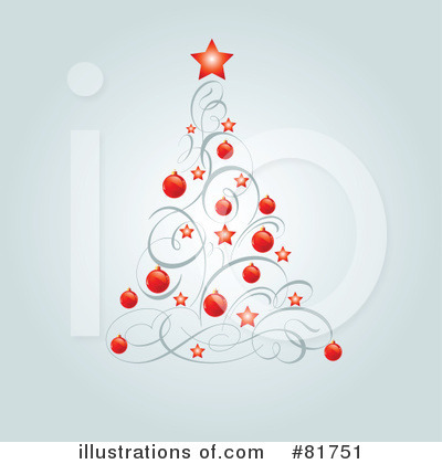 Christmas Tree Clipart #81751 by Pushkin